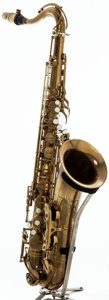 Musical Instruments:Horns & Wind Instruments, 1953 Selmer Balanced Action Tenor Saxophone, # 49847....