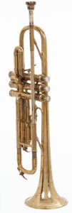 Musical Instruments:Horns & Wind Instruments, 1968 Selmer K Modified Brass Trumpet, #25888....