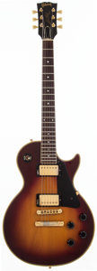 Musical Instruments:Electric Guitars, 1983 Gibson Custom Shop Les Paul Sunburst Solid Body ElectricGuitar, #83413557....