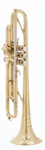 Musical Instruments:Horns & Wind Instruments, 1959 Selmer K Modified Brass Trumpet, #21381....