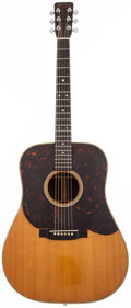 Musical Instruments:Acoustic Guitars, 1963 Martin D-28 Natural Acoustic Guitar, #190653....