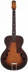 Musical Instruments:Acoustic Guitars, 1940's Old Kraftsman Archtop Acoustic Guitar, N/A....