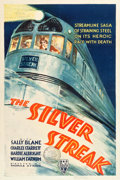 "Movie Posters:Action, The Silver Streak (RKO, 1934). One Sheet (27.25"" X 40.75"").. ..."