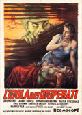 "Movie Posters:War, The Camp on Blood Island (Columbia, 1958). Italian 2 - Foglio(39.25"" X 55.25"").. ..."