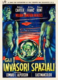 "Movie Posters:Science Fiction, Invaders from Mars (Rank, R-1958). Italian 2 - Foglio (39.5"" X55"").. ..."