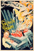 "Movie Posters:Drama, Dancers in the Dark (Paramount, 1934). German Poster (37.5"" X56"").. ..."