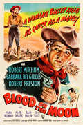 "Movie Posters:Western, Blood on the Moon (RKO, 1948). One Sheet (27.25"" X 41"").. ..."