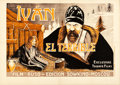"Movie Posters:Foreign, Ivan the Terrible, Part I (Triunfo Films, 1944). Spanish One Sheet (27.75"" X 39.25"").. ..."