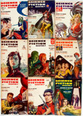 Books:Science Fiction & Fantasy, [Pulps]. Nine Issues of Science Fiction Quarterly. 1957. Original printed wrappers. Some edgewear. Very good. . ... (Total: 9 Items)