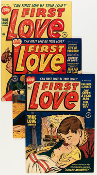 First Love Illustrated File Copies Group (Harvey, 1950-63) Condition: Average FN/VF.... (Total: 71 Comic Books)