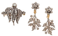 Suite of Diamond, Silver-Topped Gold, Gold-Filled Jewelry