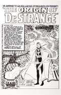 Original Comic Art:Splash Pages, Anthony Castrillo Strange Tales #115 Dr. Strange Splash PageRecreation Original Art (2009)....