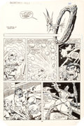 Original Comic Art:Panel Pages, Sal Buscema and Gerry Talaoc Hulk #306 Page 22 Original Art(Marvel, 1985)....