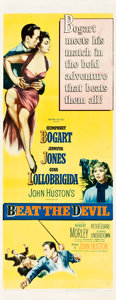 "Movie Posters:Adventure, Beat the Devil (United Artists, 1953). Insert (14"" X 36"").. ..."