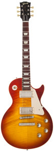 Musical Instruments:Electric Guitars, 2008 Gibson Les Paul R-0 Sunburst Solid Body Electric Guitar, #08179....