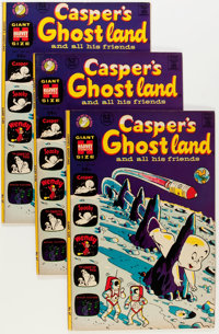 Casper's Ghostland #67 File Copy Long Box Group (Harvey, 1972) Condition: Average VF+