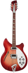 Musical Instruments:Electric Guitars, 2004 Rickenbacker 360-12 Fireglo Semi-Hollow Body Electric Guitar, Serial # 0416837. ...