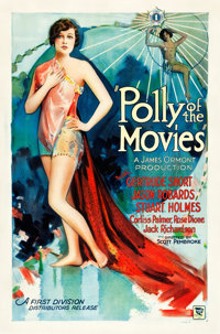 "Polly of the Movies (First Division Pictures, 1927). One Sheet (27"" X 41"") Style A"
