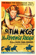 "Movie Posters:Western, The Revenge Rider (Columbia, 1935). One Sheet (27"" X 41"").. ..."