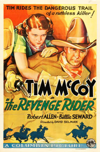 "The Revenge Rider (Columbia, 1935). One Sheet (27"" X 41"")"