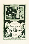 "Movie Posters:Horror, The Penalty (Goldwyn, 1920). Rotogravure One Sheet (28"" X 42"").. ..."