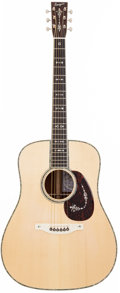 Musical Instruments:Acoustic Guitars, 2009 Bourgeois RS-42/LE Natural Acoustic Guitar, #004885....