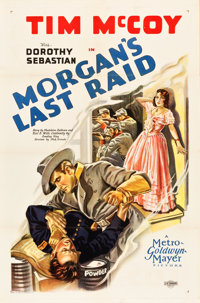 "Morgan's Last Raid (MGM, 1929). One Sheet (27"" X 41"")"
