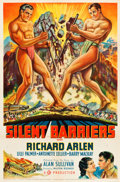 """Movie Posters:Action, Silent Barriers (20th Century Fox, 1937). One Sheet (27"""" X 41"""")Style B.. ..."""