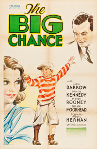 "The Big Chance (Eagle, 1933). One Sheet (27"" X 41"")"