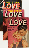 Golden Age (1938-1955):Romance, Ten-Story Love Group (Ace, 1952-56) Condition: Average FN/VF....(Total: 10 Comic Books)