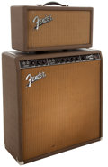 Musical Instruments:Amplifiers, PA, & Effects, 1962 Fender Concert Amp & Reverb Unit, #53858 and #R00872....