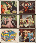 "Movie Posters:Musical, Wabash Avenue (20th Century Fox, 1950). Title Lobby Card &Lobby Cards (5) (11"" X 14""). Musical.. ... (Total: 6 Items)"