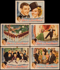 "You're a Sweetheart (Universal, 1937). Lobby Cards (5) (11"" X 14""). Musical. ... (Total: 5 Items)"