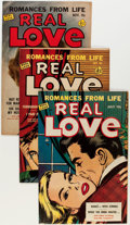Golden Age (1938-1955):Romance, Real Love Group (Ace Periodicals, 1951-56) Condition: AverageVF-.... (Total: 12 Comic Books)
