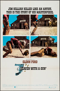 """Heaven with a Gun & Others Lot (MGM, 1969). One Sheets (3) (27"""" X 41""""). Western. ... (Total: 3 Items)"""