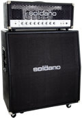 Musical Instruments:Amplifiers, PA, & Effects, 2012 Soldano SLO-100 Black Guitar Amplifier, #132285....