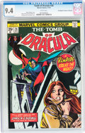 Bronze Age (1970-1979):Horror, Tomb of Dracula #26 Don/Maggie Thompson Collection pedigree(Marvel, 1974) CGC NM 9.4 White pages....