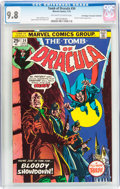 Bronze Age (1970-1979):Horror, Tomb of Dracula #34 Don/Maggie Thompson Collection pedigree (Marvel, 1975) CGC NM/MT 9.8 Off-white to white pages....