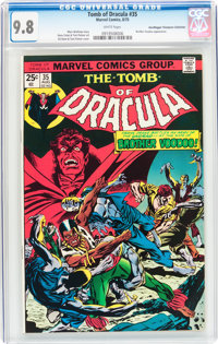 Tomb of Dracula #35 Don/Maggie Thompson Collection pedigree (Marvel, 1975) CGC NM/MT 9.8 White pages