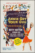 "Movie Posters:Musical, Annie Get Your Gun (MGM, R-1962). One Sheet (27"" X 41"") & LobbyCard Set of 8 (11"" X 14""). Musical.. ... (Total: 9 Items)"