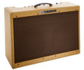 Musical Instruments:Amplifiers, PA, & Effects, 1959 Fender High Power Twin Amp Tweed Guitar Amplifier, #A00633....