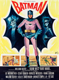 "Batman (20th Century Fox, 1966). French Grande (45.5"" X 62"")"