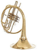 Musical Instruments:Horns & Wind Instruments, 1970's Holton MH-100 Brass French Horn, #577851....