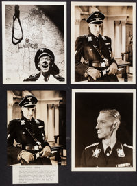 "John Carradine in Hitler's Madman & Others Lot (MGM, 1943). Portrait Photos (11) (7.25"" X 9.25"" &a..."