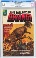 Silver Age (1956-1969):Horror, Movie Classics: Valley of Gwangi (Dell, 1969) CGC NM+ 9.6 Off-whiteto white pages....