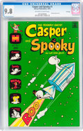 Bronze Age (1970-1979):Cartoon Character, Casper and Spooky #1 File Copy (Harvey, 1972) CGC NM/MT 9.8Off-white to white pages....