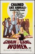 "Movie Posters:Bad Girl, Chain Gang Women (Crown International, 1971). One Sheet (27"" X41""). Bad Girl.. ..."
