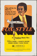 "Movie Posters:Blaxploitation, Fox Style (Presidio, 1973). One Sheet (27"" X 41""). Blaxploitation.. ..."