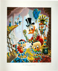 Memorabilia:Disney, Carl Barks First National Bank of Cibola Regular Signed Limited Edition Lithograph (Another Rainbow, 1987).... (Total: 2 Items)