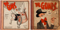 Platinum Age (1897-1937):Miscellaneous, The Gumps Group (Cupples & Leon, 1924-25) Condition: AverageGD.... (Total: 2 Comic Books)